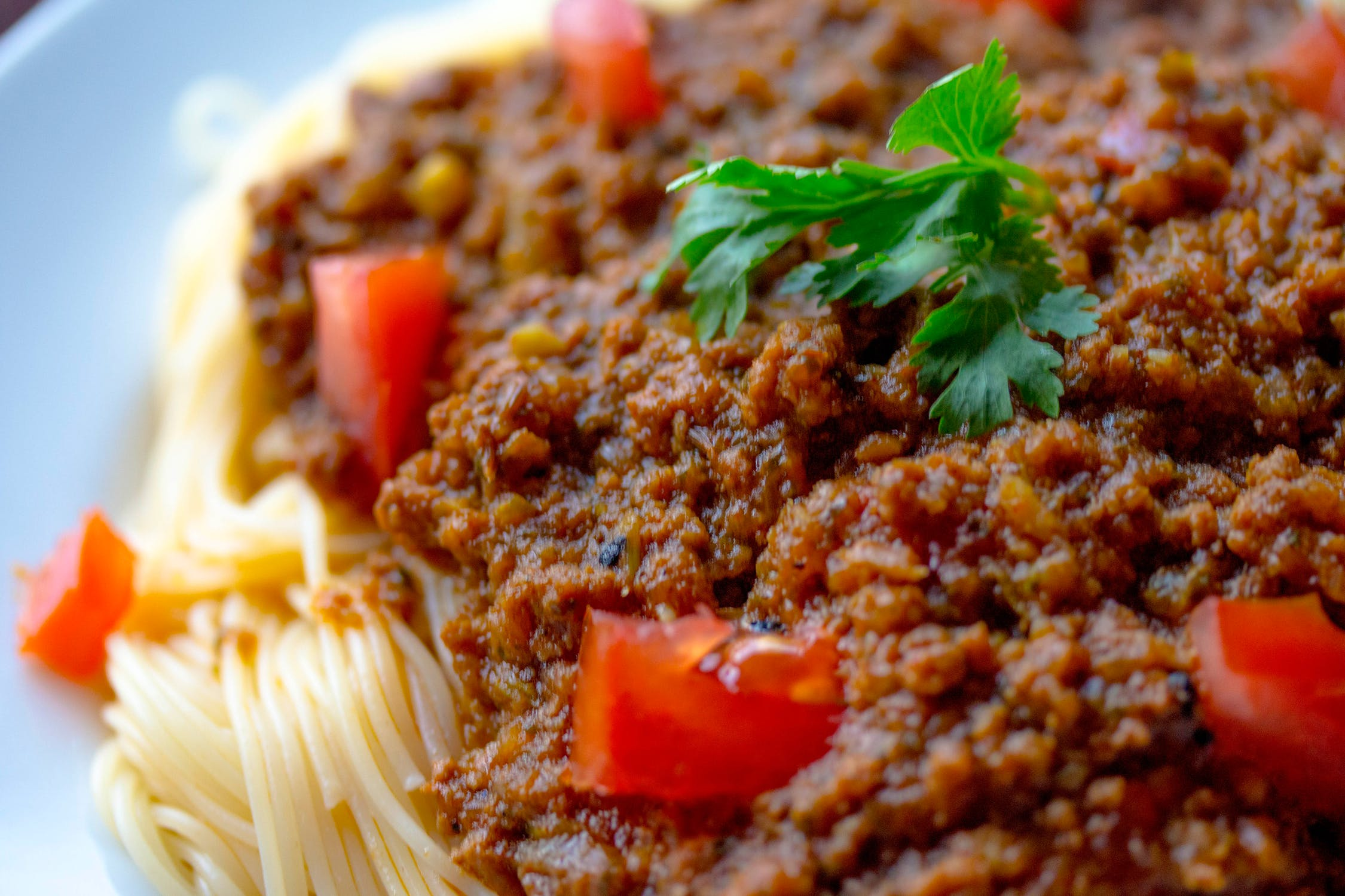 Pimped Up Spaghetti Bolognese